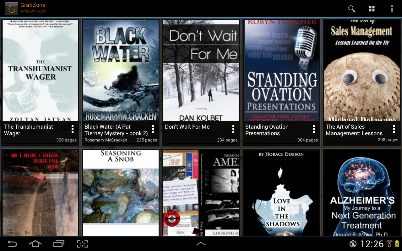 GratiZone: eBooks for Kindle- screenshot