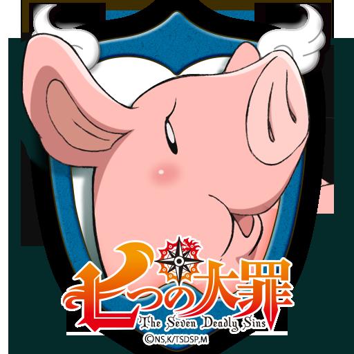 ロック画面 / ホークver. 「七つの大罪」 個人化 LOGO-玩APPs
