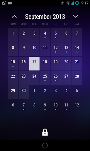 Today - Calendar Widget