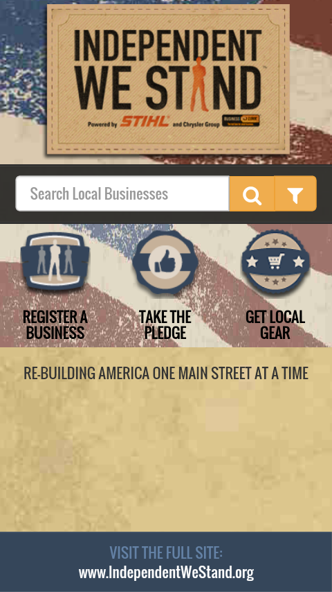 Buy Local App- screenshot