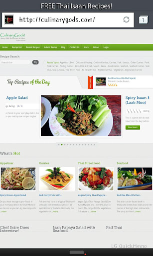 CulinaryGods FREE Thai Recipes