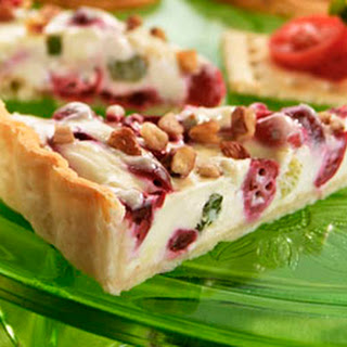 Cranberry Gorgonzola Appetizer Tart Recipe