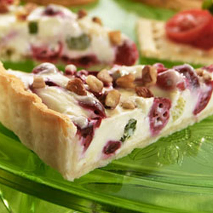 Cranberry Gorgonzola Appetizer Tart Recipe