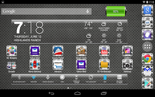 Screenshot of LC Metal Glass Apex/Go/Nova