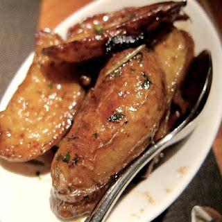 Salt 'n Vinegar Roasted Potatoes.