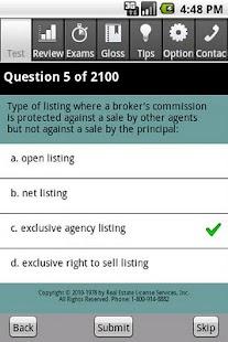 Real Estate Sales Exam Pro- screenshot thumbnail
