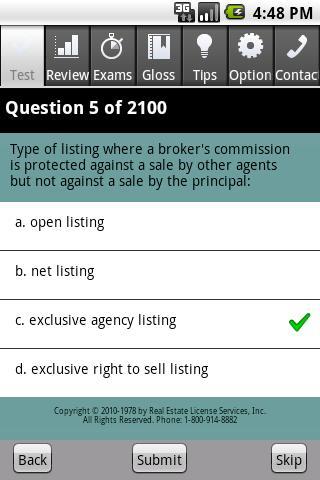 Real Estate Sales Exam Pro- screenshot