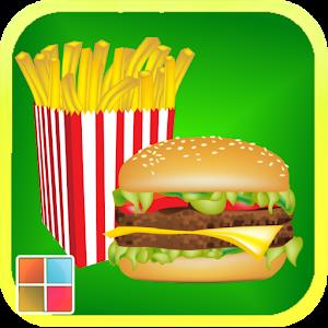 食物單字圖卡/拼圖 LOGO-APP點子