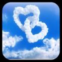 Love in Sky live wallpaper icon