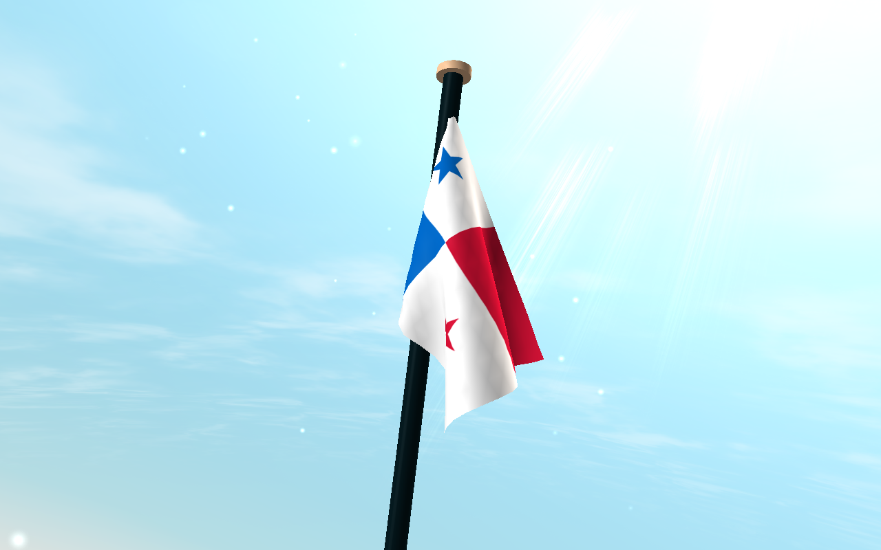 Panama Flag 3D Live Wallpaper  Android Apps on Google Play