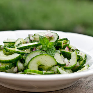 Cucumber and Mint Salad