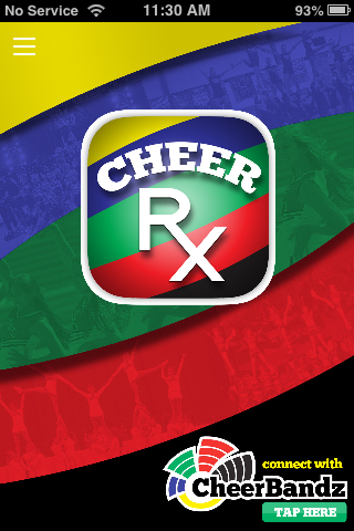 Cheer Rx- screenshot