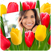 Flower Photo Frames & Effects