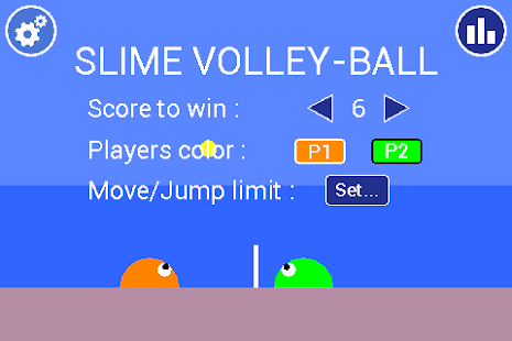 Slime Volley-Ball- screenshot thumbnail