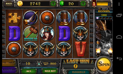 Pharaoh's Treasure Viking Slot