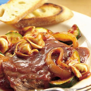 Slow-Cooker Italian Smothered Steak.
