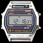 Montana clock icon