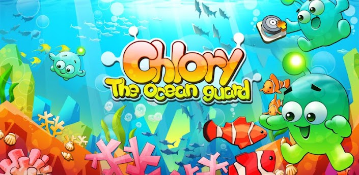 Красочная головоломка Chlory : The Ocean Guard для андроид