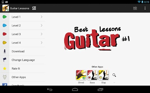 Guitar Lessons Beginners LITE- screenshot thumbnail