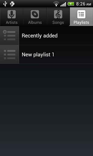Default Music Player screenshot 3