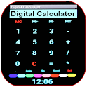Calculadora digital icon