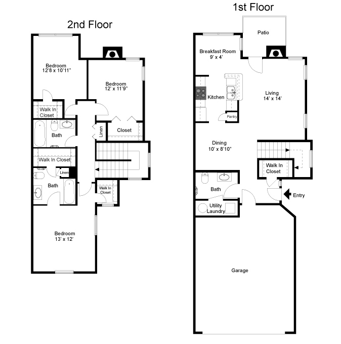 madison floorplan  3 bed  2 5 bath