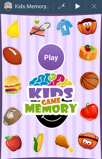 1st Memory Game