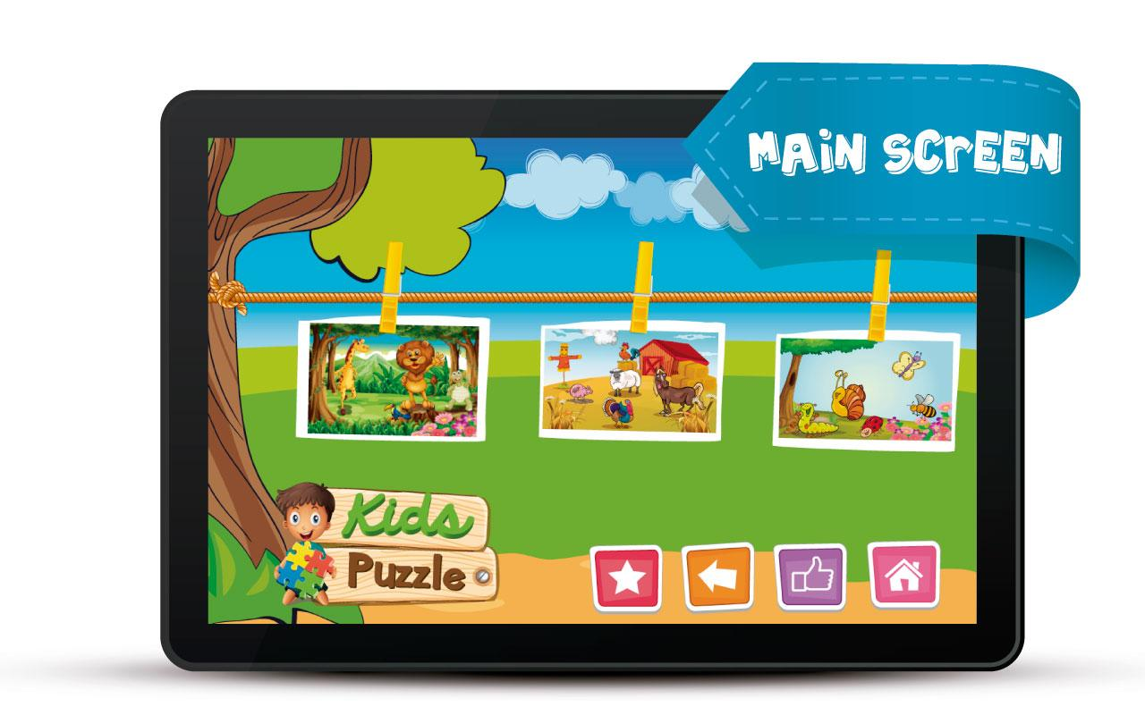 Kids Puzzle- screenshot
