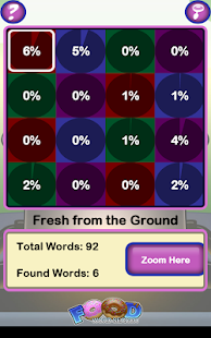 Epic Food Word Search- screenshot thumbnail