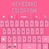 Keyboard Color Pink