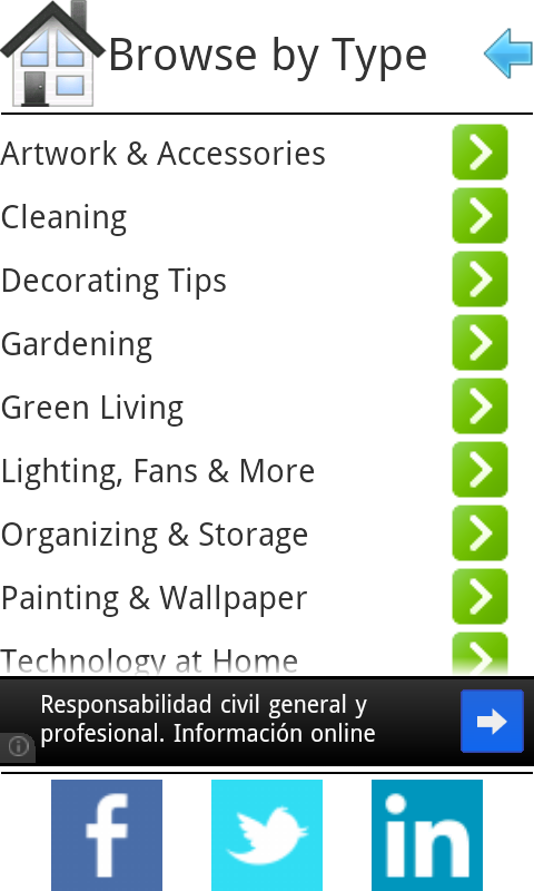 Decorating Trends - screenshot