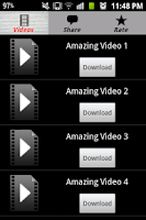 Screenshot of Must See Free Videos Downloads