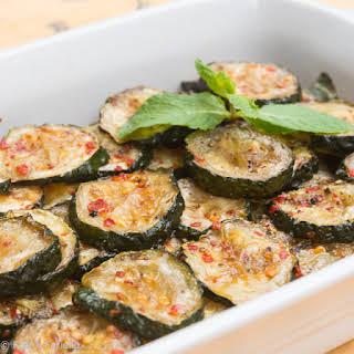 Zucchine «a scapece» (Piquant Fried Zucchini).
