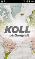 Screenshot of Koll på Geografi