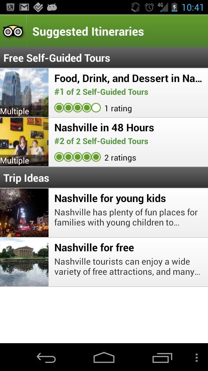 Nashville City Guide screenshot #4