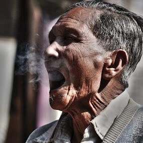 Dirty PORTriat by Priyojit Singh Akoijam - People Portraits of Men