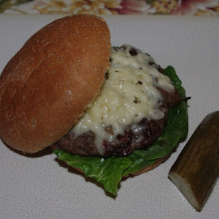 French Onion Burgers With Gruyere Cheese