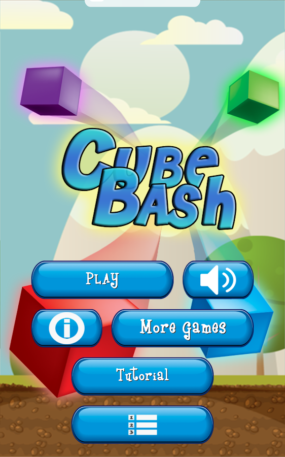 Cube Bash- screenshot