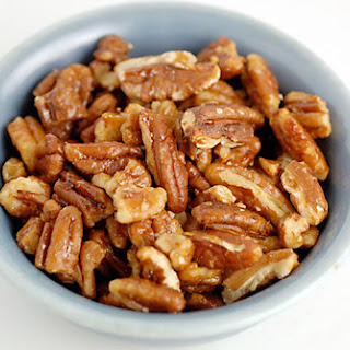 Candied Pecans and Herbed Toasted Walnuts