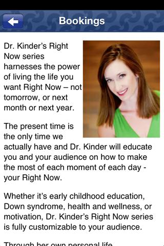 Dr. Julia Kinder- screenshot