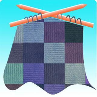 Ruler for knit chart