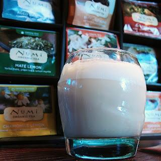 Iced Bulletproof Green Tea.