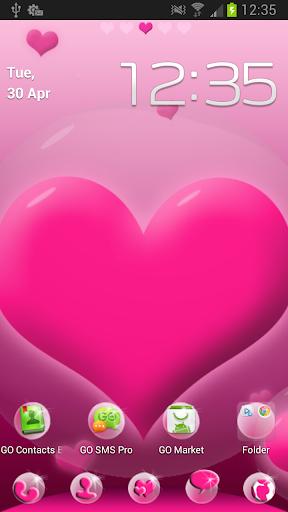 玩個人化App|GO桌面EX的心主題免費|APP試玩