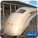Bullet Train Subway Station 3D icon