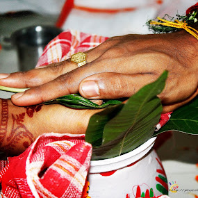 The promise by Avanish Krsna Das - Wedding Ceremony ( shadi, wedding, avanish, bride, groom )