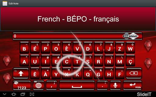 SlideIT French BÉPO pack