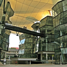 Through the glass by Wawan Adi - Buildings & Architecture Office Buildings & Hotels