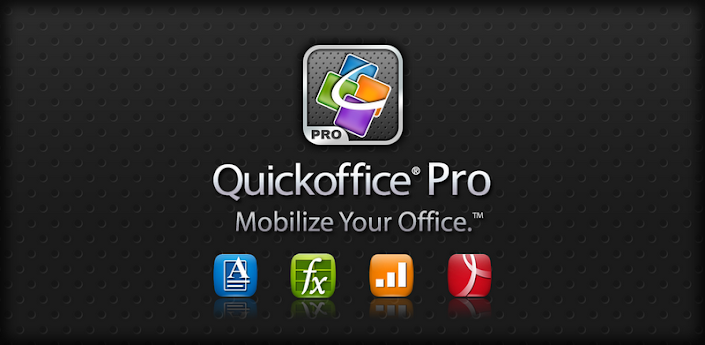 Quickoffice Pro (Office e PDF)