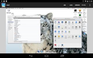 Screenshot of Mocha VNC Lite
