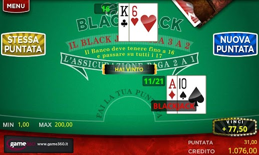 360 BlackJack - screenshot thumbnail